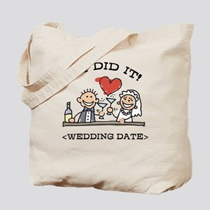 Funny Personalized Wedding Tote Bag