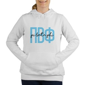 Pi Beta Phi Polka Dots Women's Hooded Sweatshirt