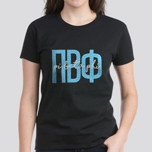 Pi Beta Phi Polka Dots Women's Dark T-Shirt