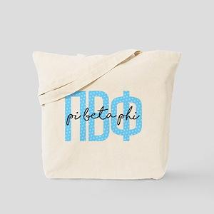 Pi Beta Phi Polka Dots Tote Bag