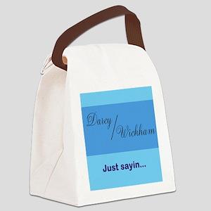 Darcy/Wickham Canvas Lunch Bag