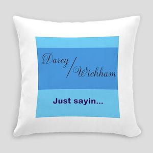 Darcy/Wickham Everyday Pillow