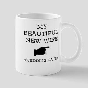 New Wife (Wedding Date) Mug