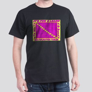 It's Fun 2 Learn Multiplicati Black T-Shirt