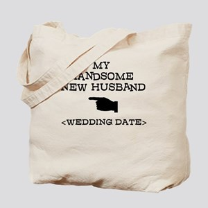 New Husband (Wedding Date) Tote Bag