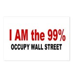I am the 99 Percent Postcards (Package of 8)