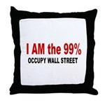 I am the 99 Percent Throw Pillow