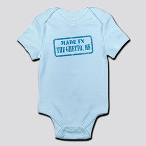 MADE IN THE GHETTO, MS Infant Bodysuit