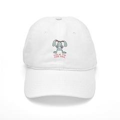 Talk To The Tail Rabbit Baseball Cap