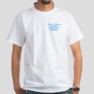 RCC McKenzie Driftboat. White T-Shirt