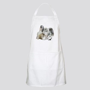 two shih tzus Apron