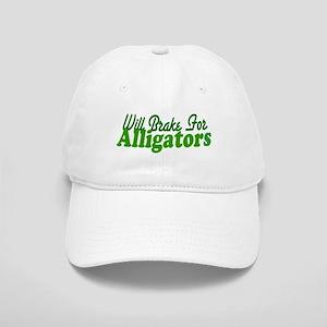 Will Brake For Alligators Cap