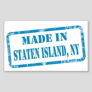 MADE IN STATEN ISLAND Sticker (Rectangle)