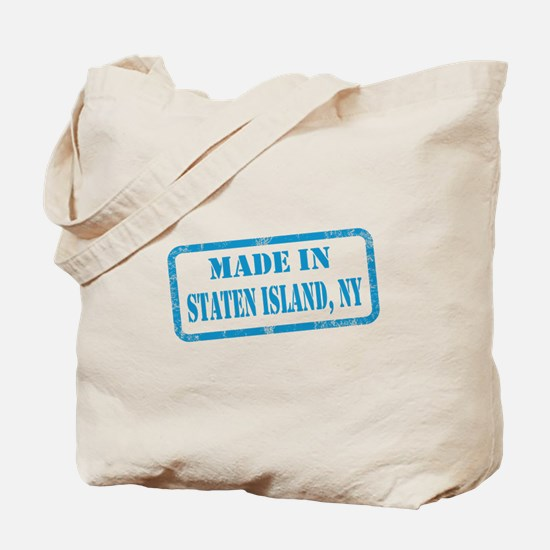 MADE IN STATEN ISLAND Tote Bag