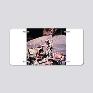 Moon Buggy Blast Aluminum License Plate
