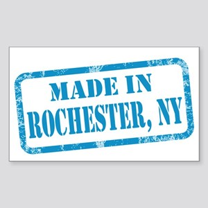 MADE IN ROCHESTER Sticker (Rectangle)
