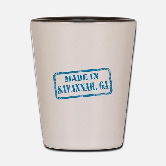 MADE IN SAVANNAH, GA Shot Glass
