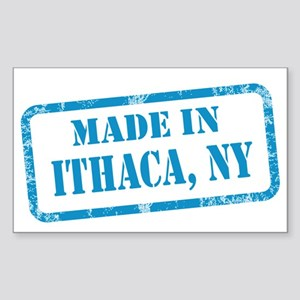 MADE IN ITHACA Sticker (Rectangle)