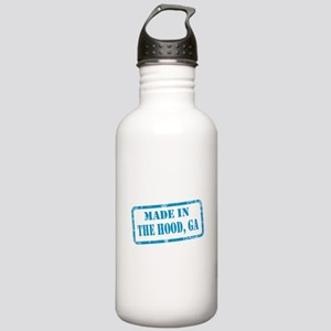 MADE IN THE HOOD, GA Stainless Water Bottle 1.0L