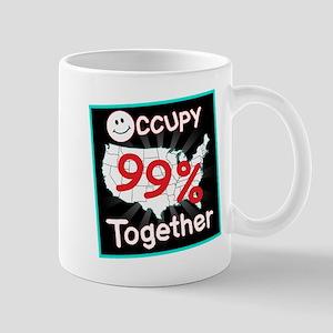 occupy together smile Mug