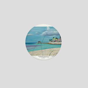 Island Getaway Mini Button