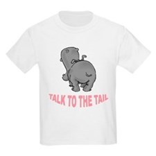 Hippo Talk To The Tail Kids Light T-Shirt