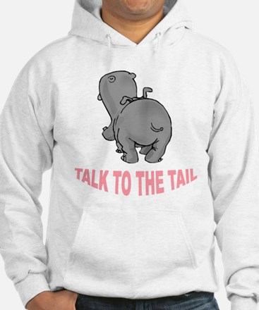 Hippo Talk To The Tail Jumper Hoody