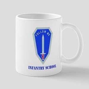 DUI - Infantry Center/School with Text Mug