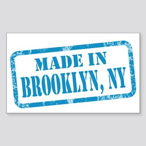 MADE IN BROOKLYN Sticker (Rectangle)