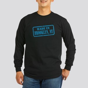 MADE IN BROOKLYN Long Sleeve Dark T-Shirt