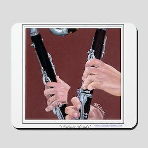 Clarinet Hands Mousepad