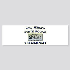 New Jersey State Police Sticker (Bumper)