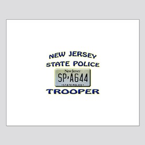 New Jersey State Police Small Poster