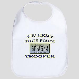 New Jersey State Police Bib