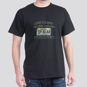 New Jersey State Police Dark T-Shirt