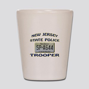 New Jersey State Police Shot Glass