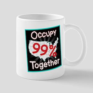 occupy together 99 Mug