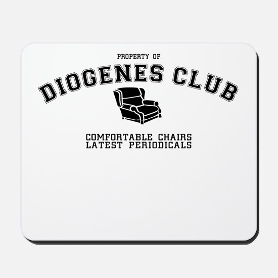 Sherlock Holmes Diogenes Club Mousepad