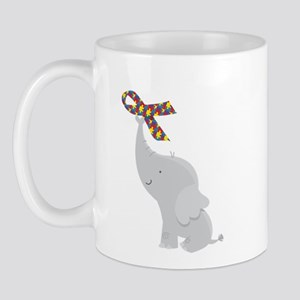 Autism Elephant Awareness Mug