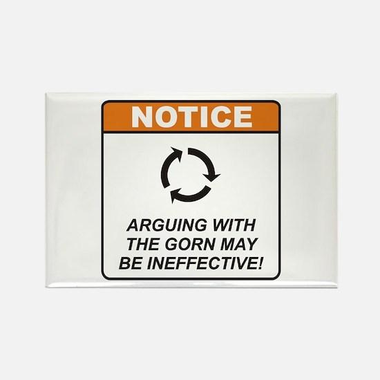 Gorn / Argue Rectangle Magnet