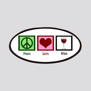Peace Love Wine Patches