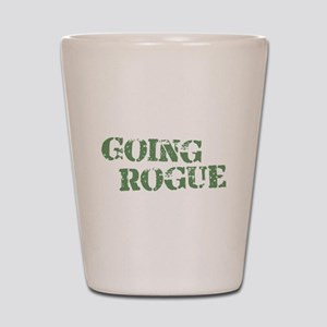 Going Rogue Shot Glass
