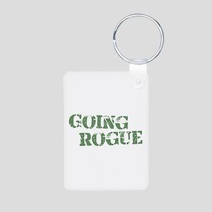 Going Rogue Aluminum Photo Keychain