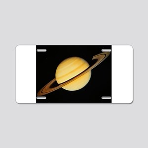 Saturn Aluminum License Plate