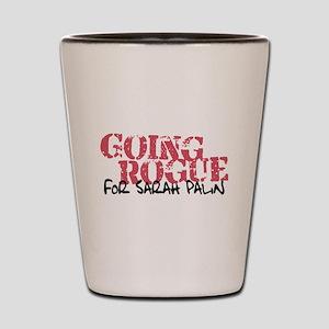 Going Rogue for Sarah Palin Shot Glass