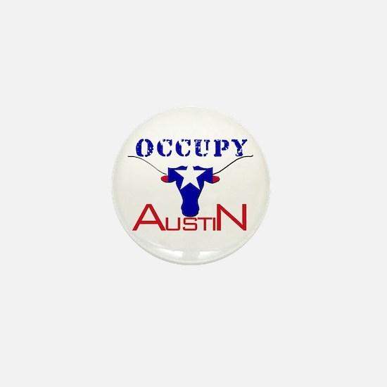 Occupy Austin Mini Button