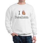 I heart realism Sweatshirt