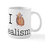 I heart realism Mug