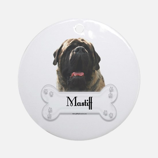 Mastiff 81 Ornament (Round)
