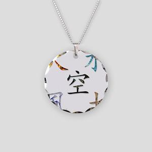 5 Elements Necklace Circle Charm